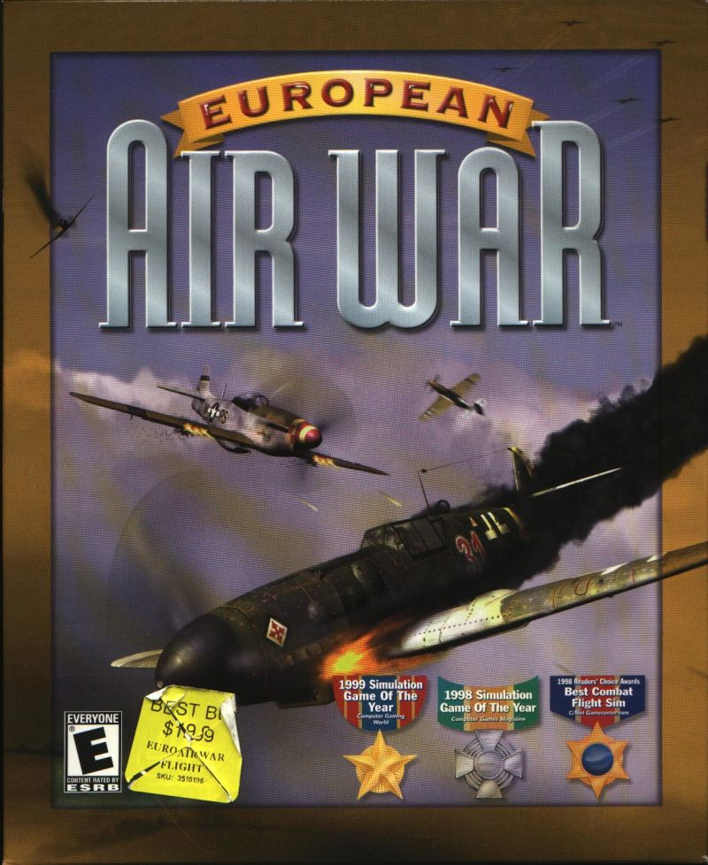 European Air War Windows Front Cover