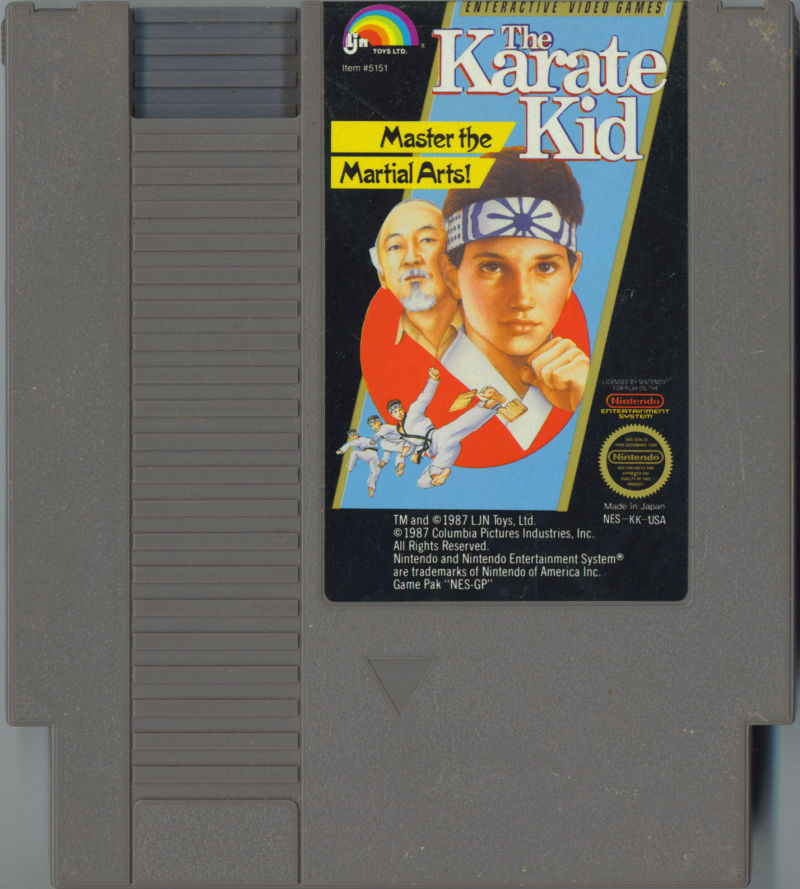 The Karate Kid NES Media