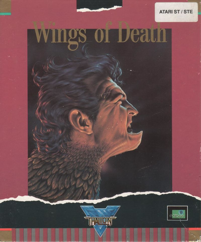 Wings of Death Atari ST Front Cover