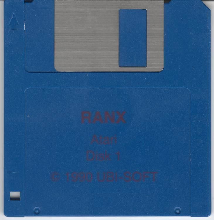 Ranx: The Video Game Atari ST Media Disk 1/2