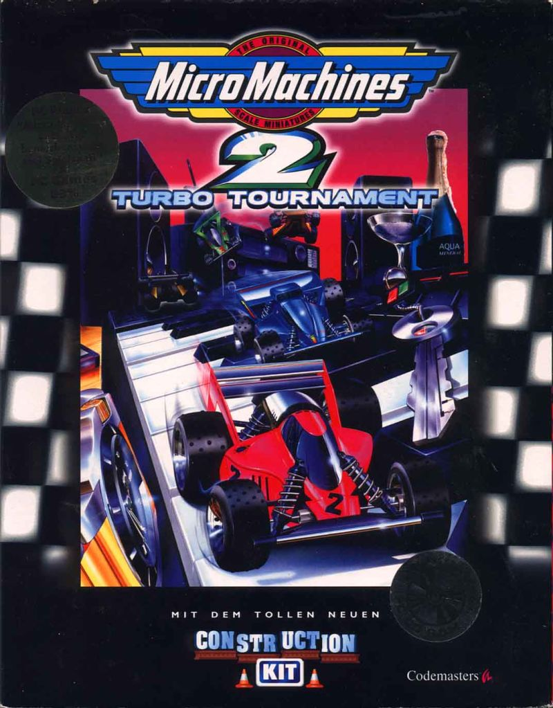 Micro Machines 2: Turbo Tournament DOS Front Cover