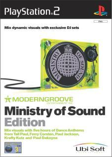 Moderngroove: Ministry of Sound Edition PlayStation 2 Front Cover