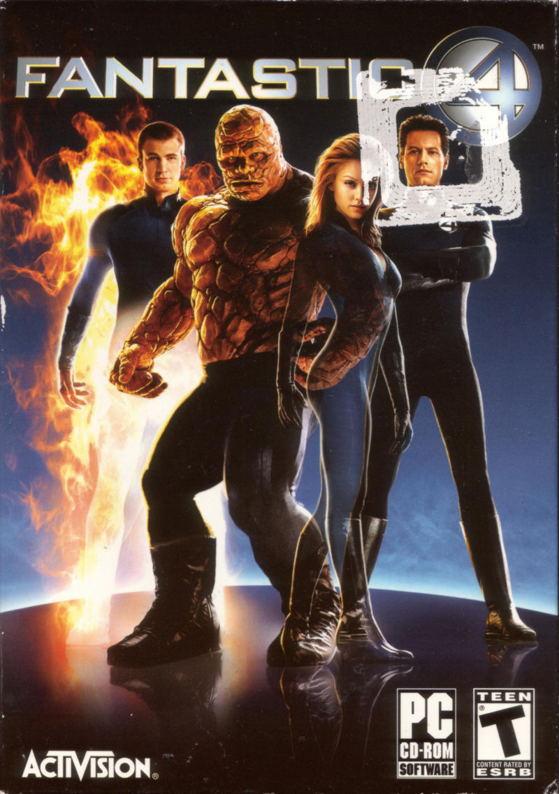 Fantastic 4 Windows Front Cover