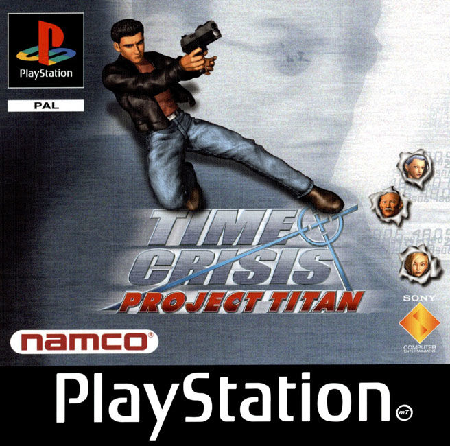 Time Crisis: Project Titan PlayStation Front Cover