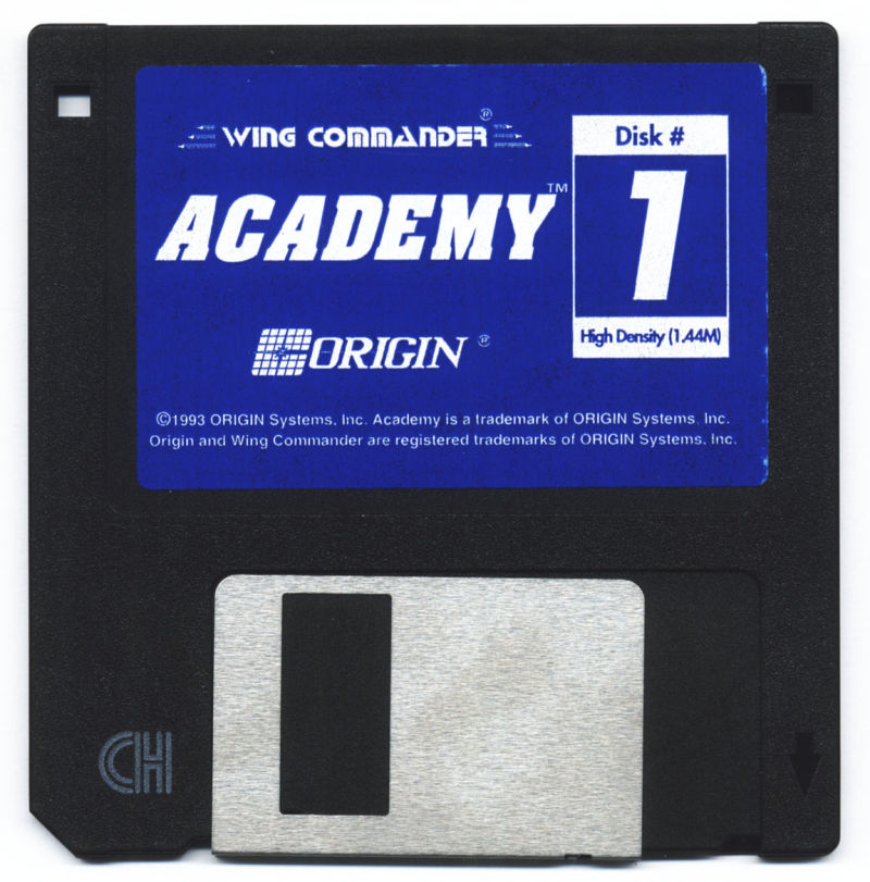 Wing Commander Academy DOS Media Disk 1
