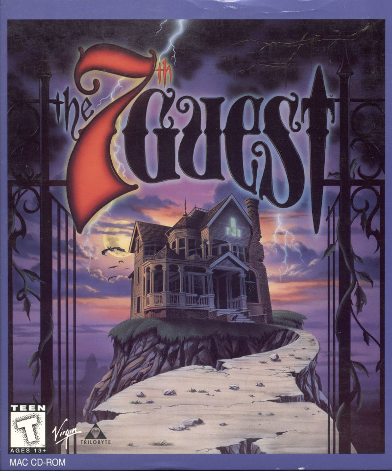 The 7th Guest Macintosh Front Cover