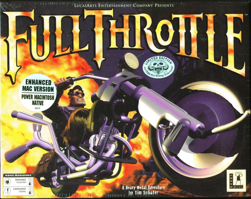 Full Throttle Macintosh Front Cover