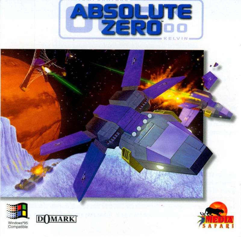 Absolute Zero DOS Other Jewel Case - Front