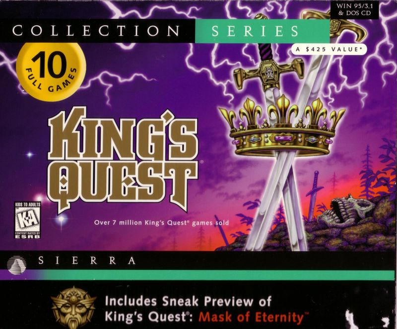 King's Quest: Collection Series DOS Front Cover