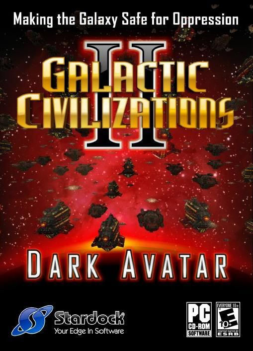 Galactic Civilizations II: Dark Avatar Windows Front Cover
