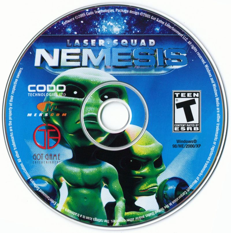 Laser Squad: Nemesis Windows Media