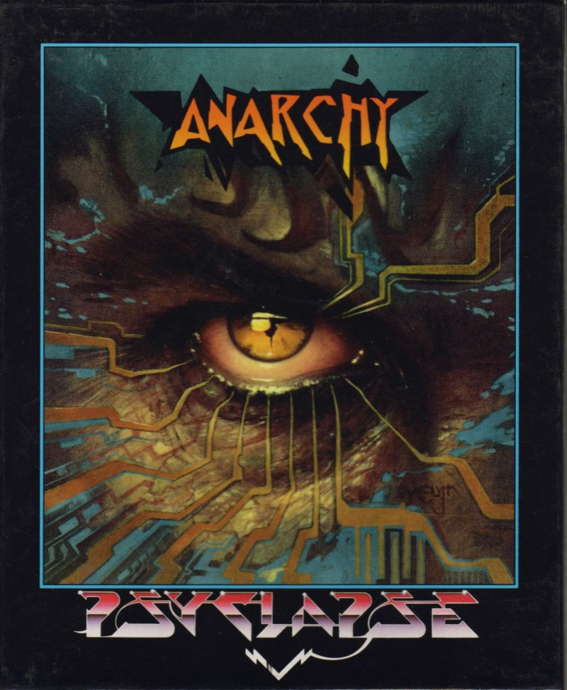 Anarchy Amiga Front Cover