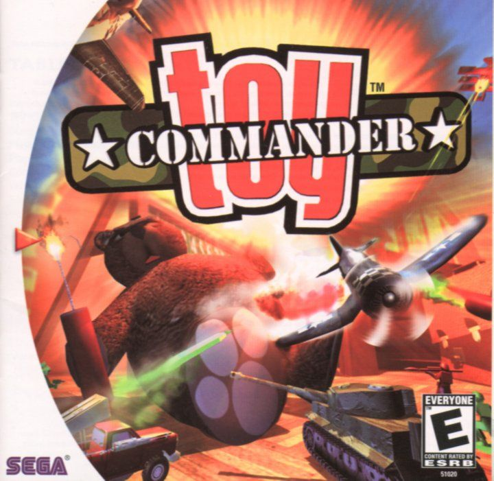 Toy Commander Dreamcast Front Cover