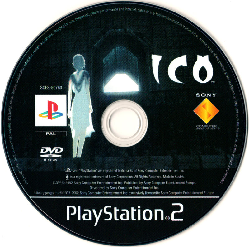 ICO PlayStation 2 Media