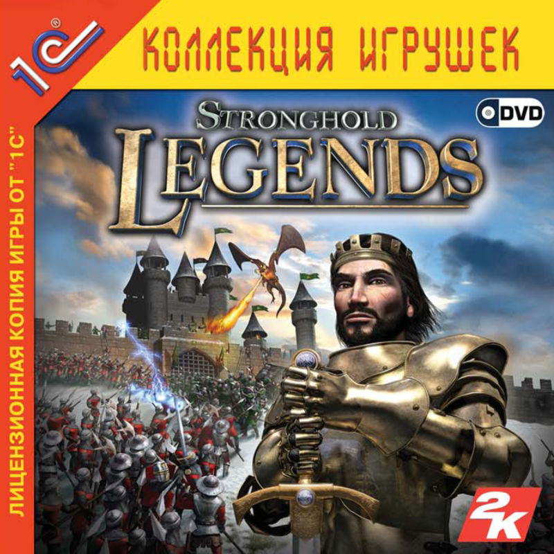 Stronghold Legends Windows Front Cover