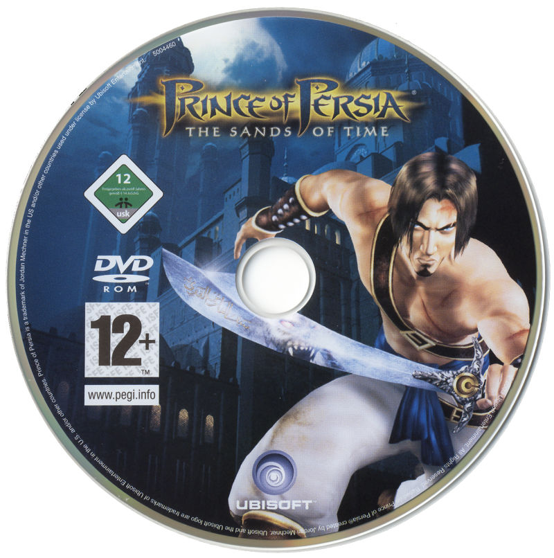 Prince of Persia Trilogy Windows Media The Sands of Time Disc