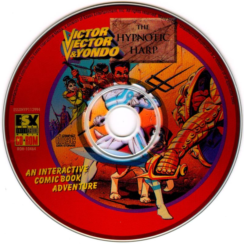 The Awesome Adventures of Victor Vector & Yondo: The Hypnotic Harp Macintosh Media