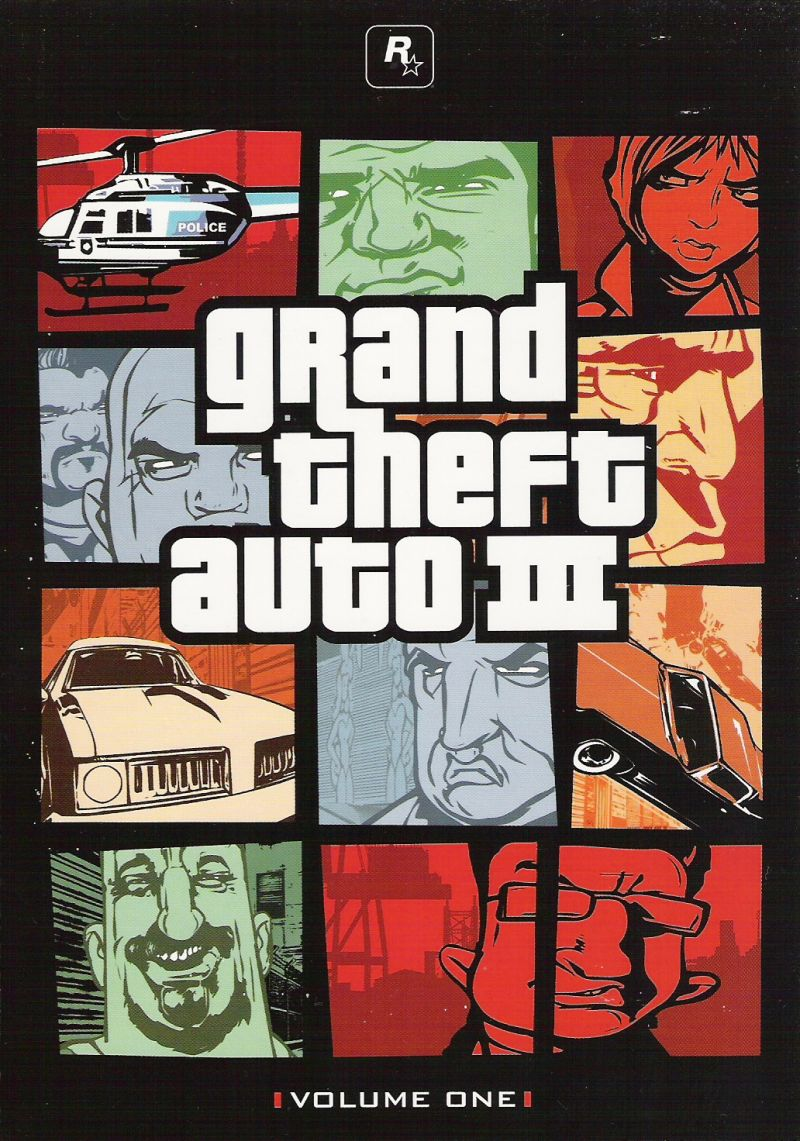 Grand Theft Auto: The Trilogy Xbox Other Grand Theft Auto 3 - Inside Cover 1