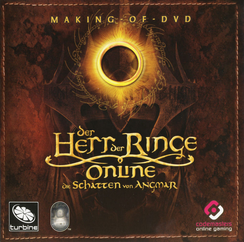 The Lord of the Rings Online: Shadows of Angmar (Collector's Edition) Windows Other Sleeve - Making Of-DVD - Front