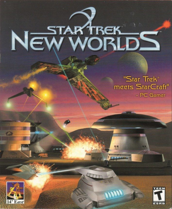 Star Trek: New Worlds Windows Front Cover