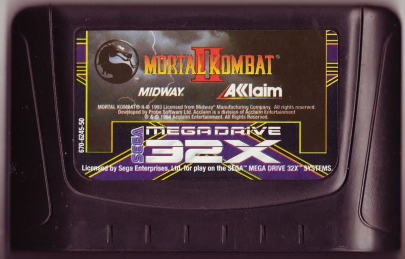 Mortal Kombat II SEGA 32X Media