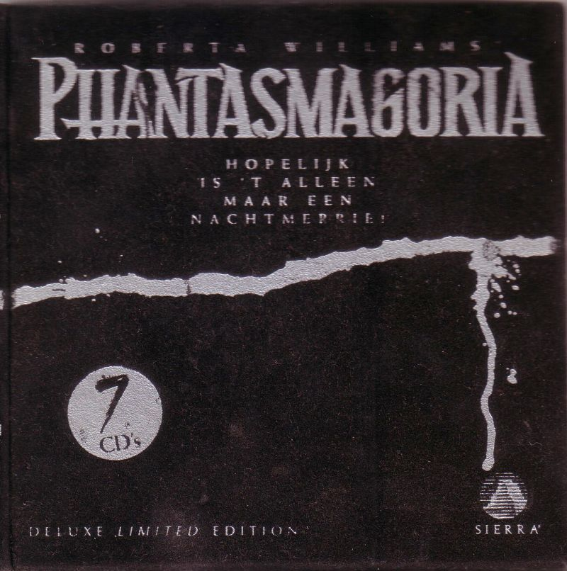Roberta Williams' Phantasmagoria (Deluxe Limited Edition) DOS Front Cover