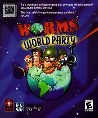 Worms World Party Windows Front Cover
