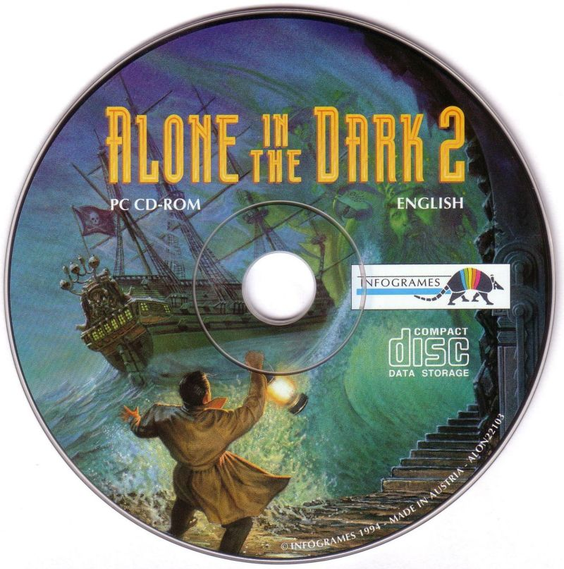 Alone in the Dark: The Trilogy 1+2+3 DOS Media Alone in the Dark 2