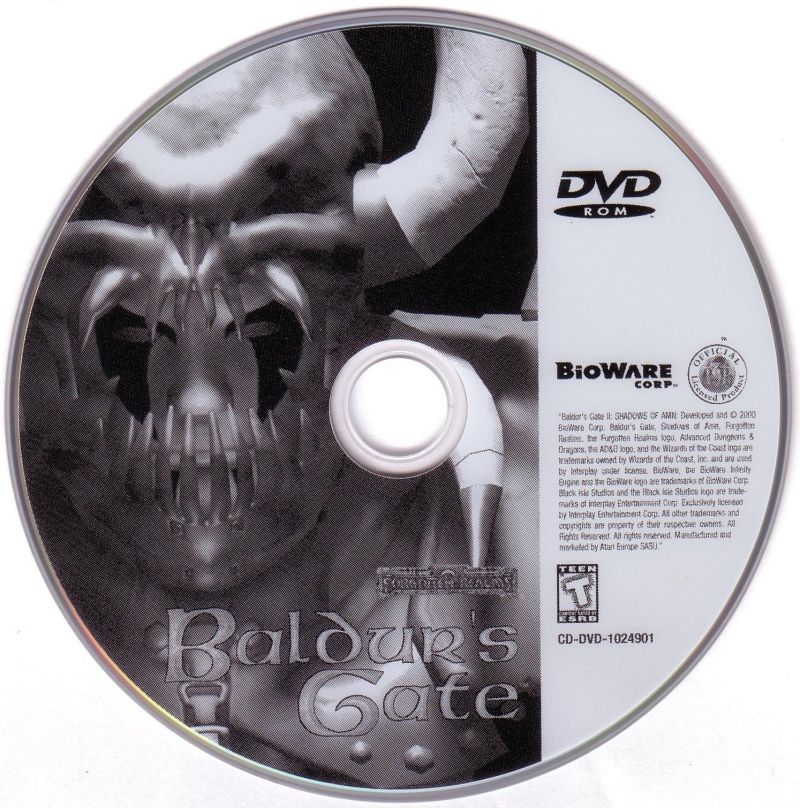 Baldur's Gate: 4 in 1 Boxset Windows Media Baldur's Gate Disc