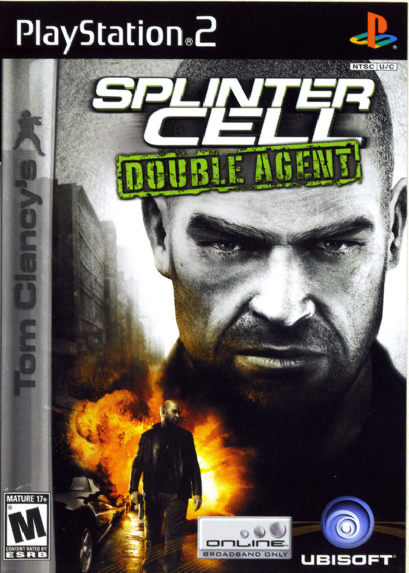 Tom Clancy's Splinter Cell: Double Agent PlayStation 2 Front Cover