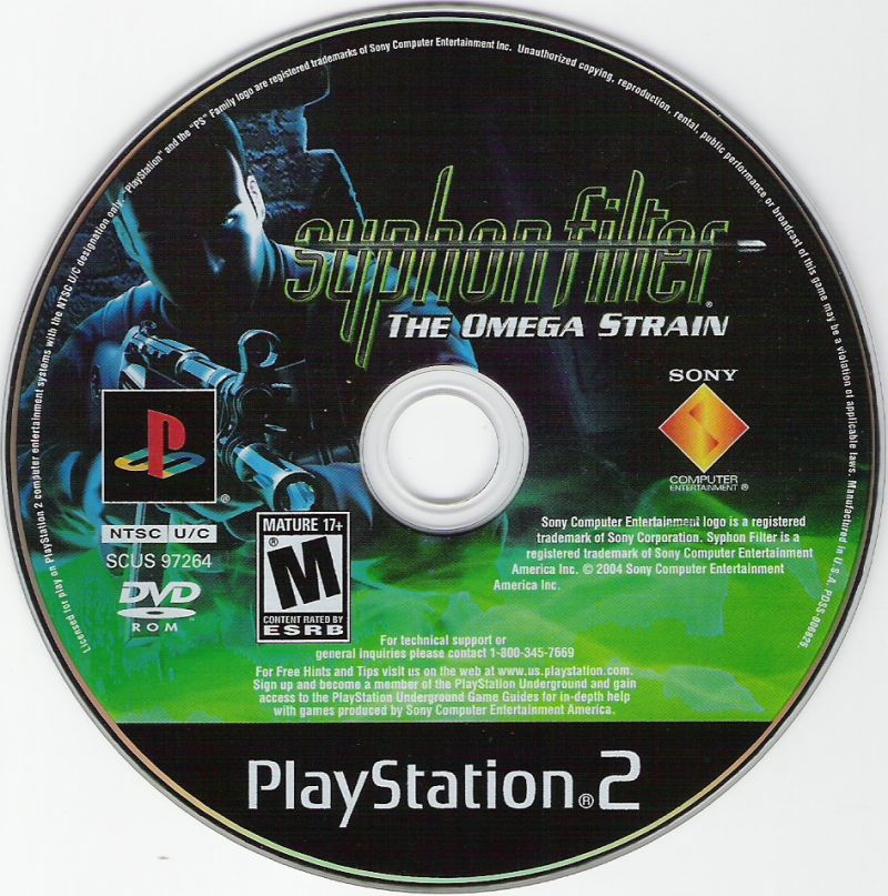 Syphon Filter: The Omega Strain PlayStation 2 Media
