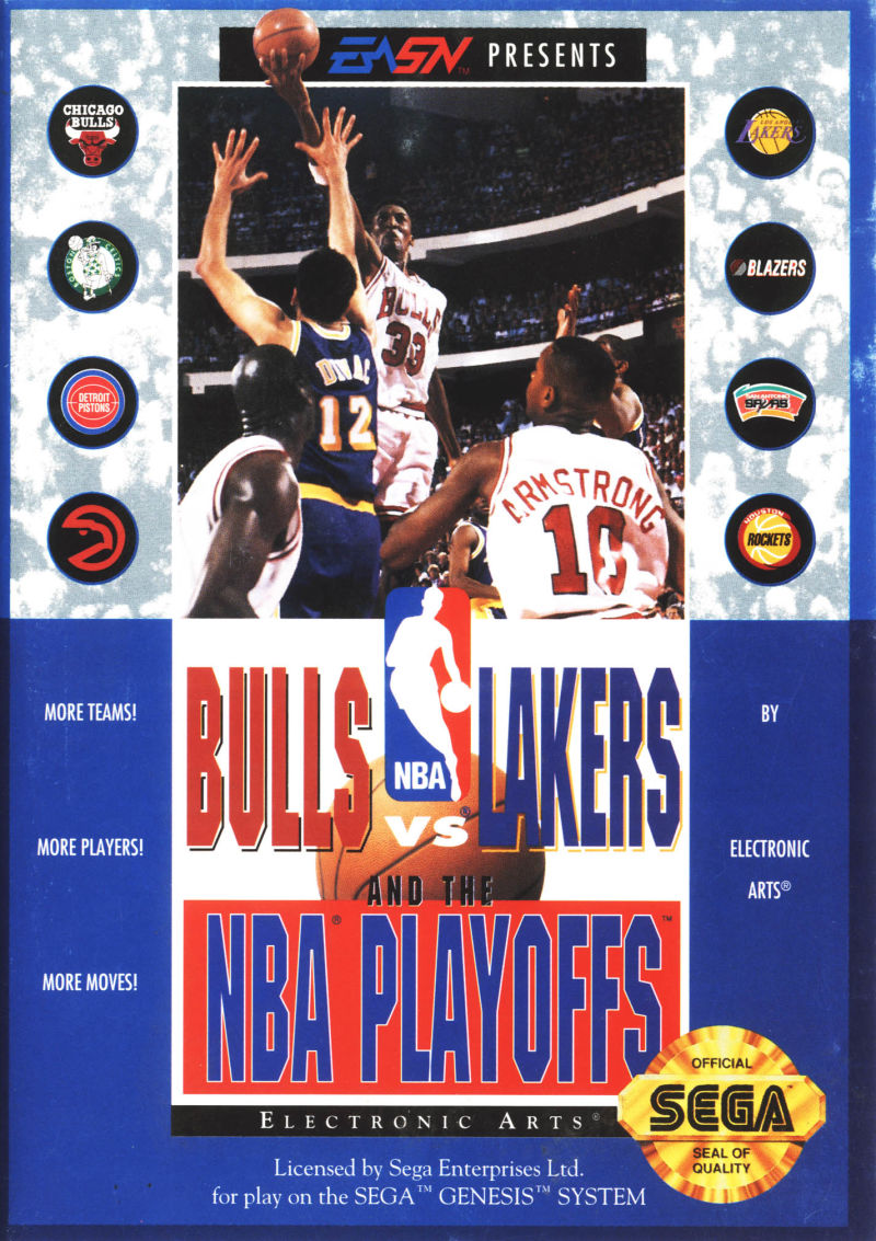 Bulls vs. Lakers and the NBA Playoffs Genesis Front Cover