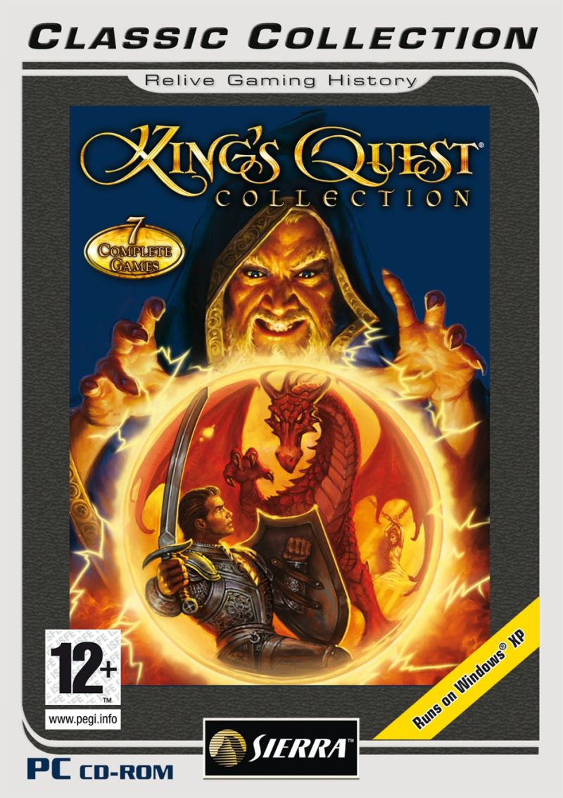 King's Quest Collection Windows Front Cover