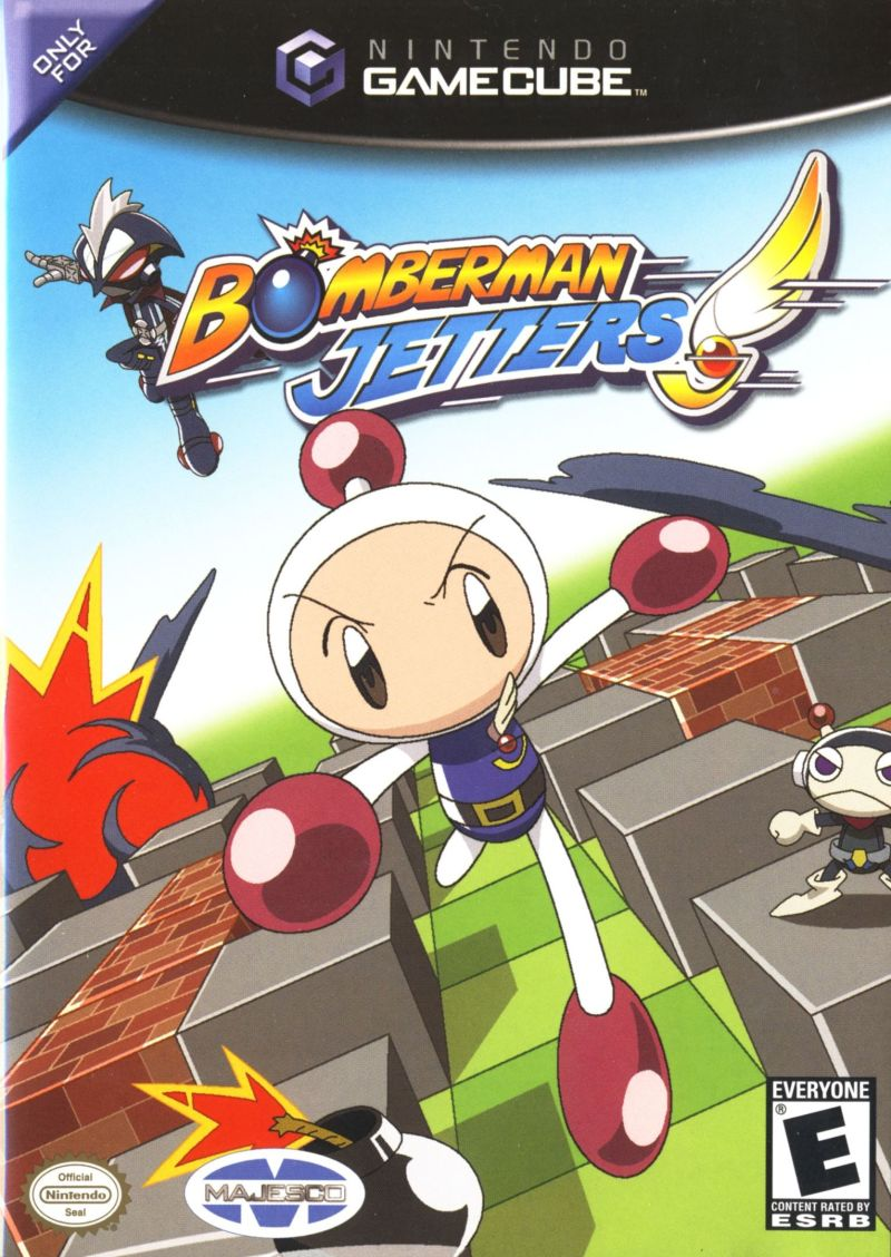 Bomberman Jetters GameCube Front Cover