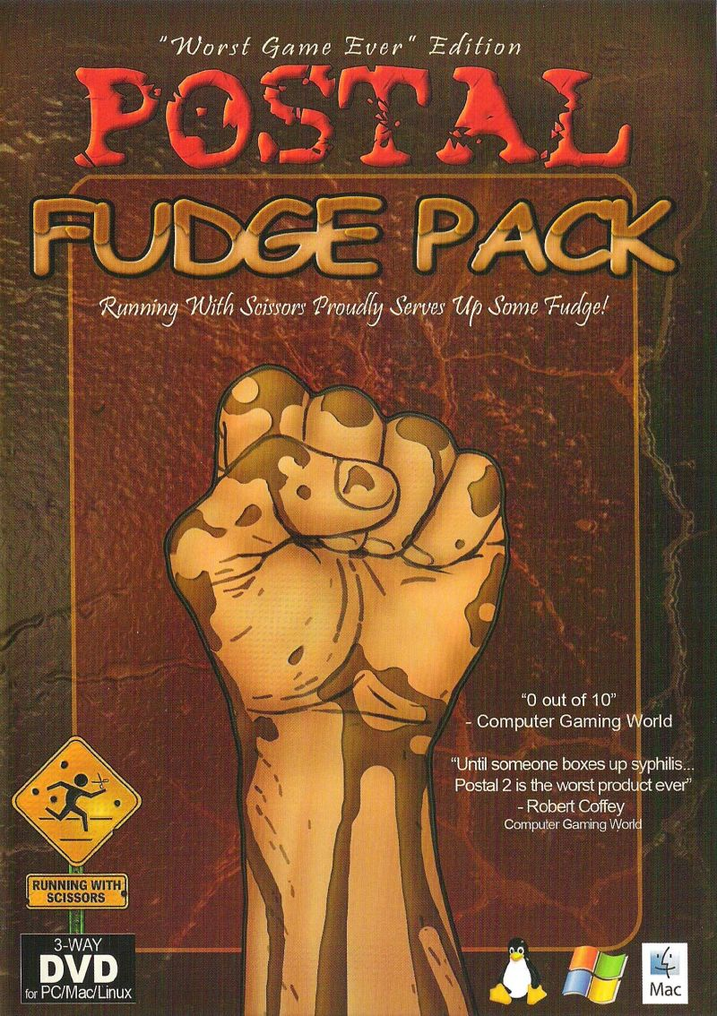 Postal: Fudge Pack Linux Front Cover