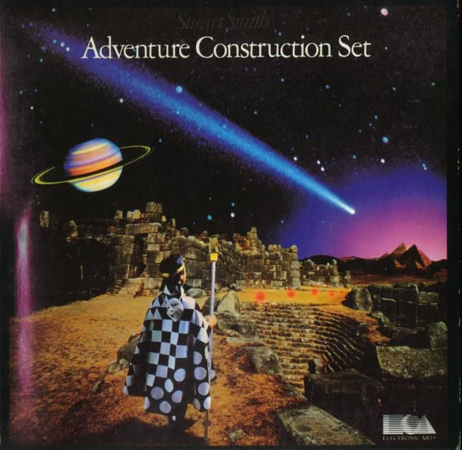 Stuart Smith's Adventure Construction Set DOS Front Cover