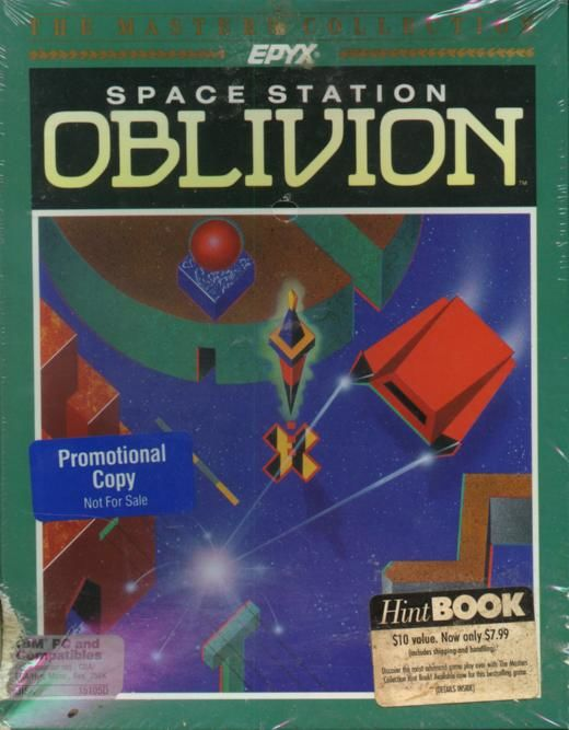 Space Station Oblivion DOS Front Cover