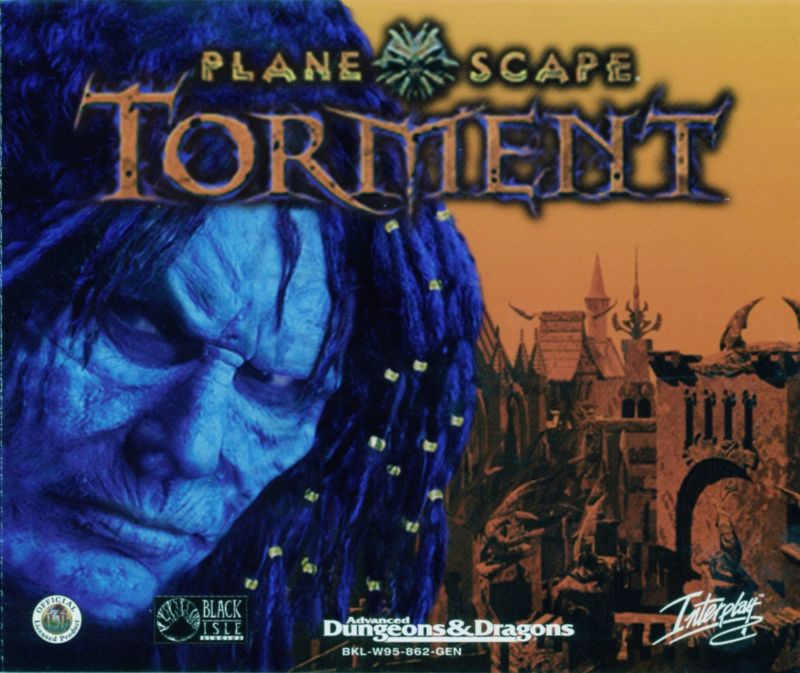 Planescape: Torment / Baldur's Gate / Fallout 2 Windows Other Planescape: Torment - Jewel Case - Front