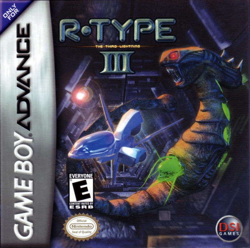 R-Type III: The Third Lightning Game Boy Advance Front Cover