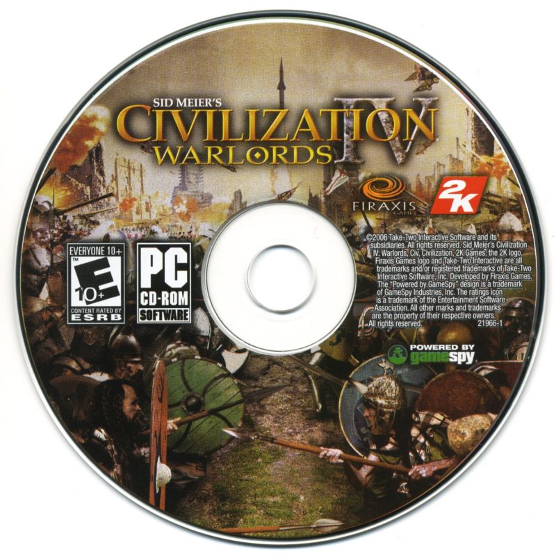 Sid Meier's Civilization IV: Warlords Windows Media