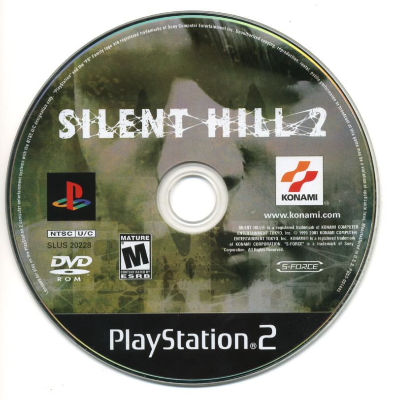 Silent Hill 2 PlayStation 2 Media