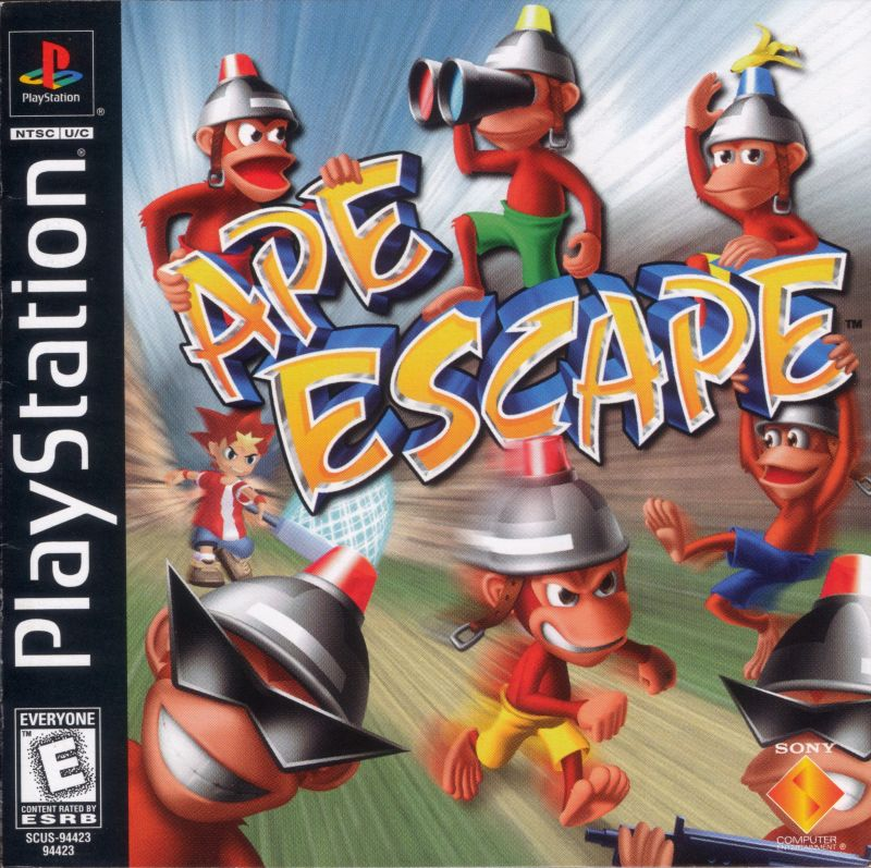 Ape Escape PlayStation Front Cover