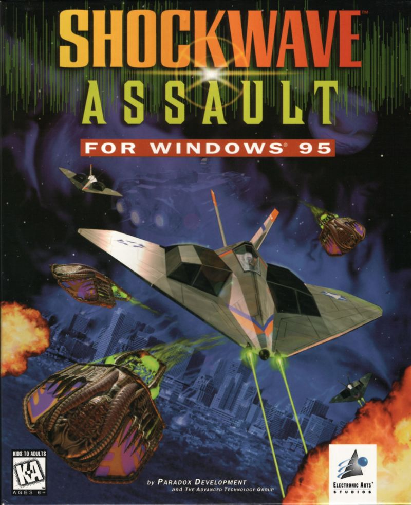 Shockwave Assault Windows Front Cover