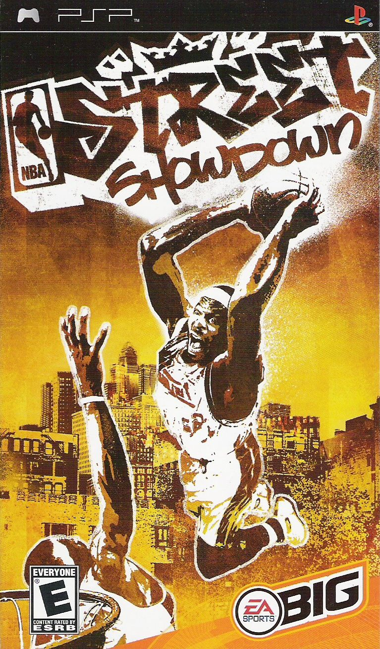 NBA Street Showdown PSP Front Cover