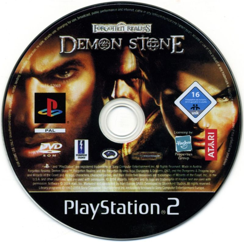 Forgotten Realms: Demon Stone (2004) PlayStation 2 box cover