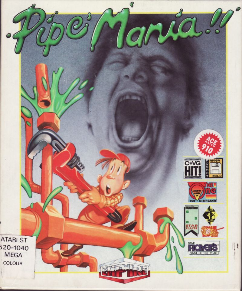 Pipe Dream Atari ST Front Cover