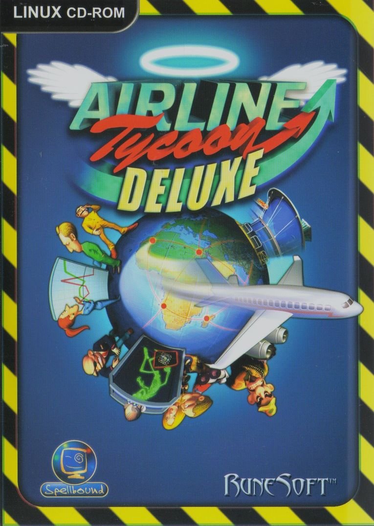 Airline Tycoon Deluxe Linux Front Cover