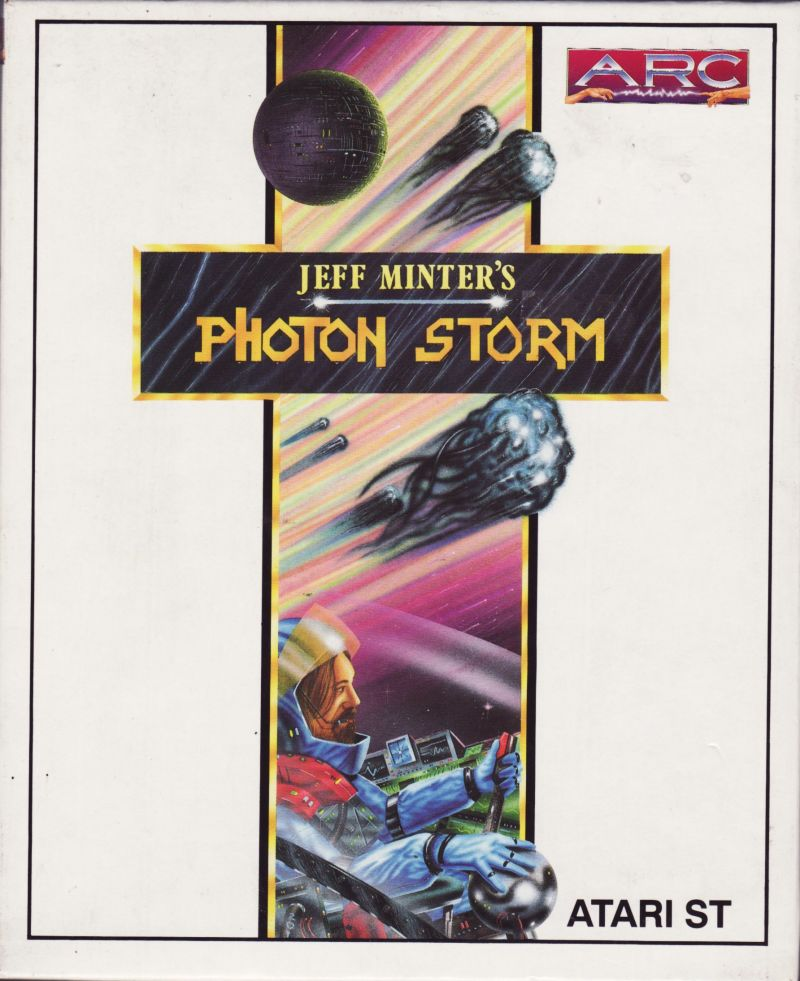 Photon Storm Atari ST Front Cover