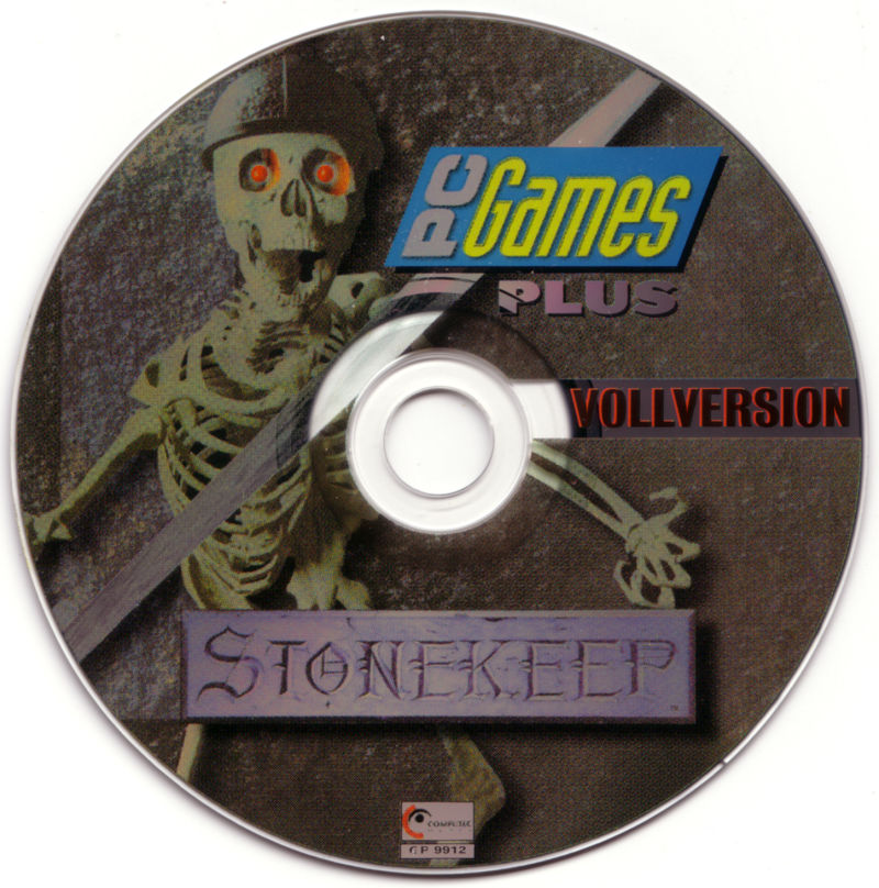 Stonekeep DOS Media