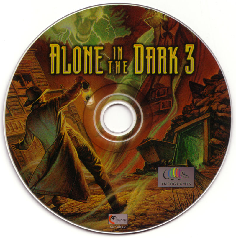 Alone in the Dark 3 DOS Media